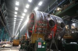 Reaktorová nádoba pro první blok elektrárny Rooppur (zdroj Atomenergomaš).
