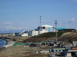 Rozestavěná jaderná elektrárna Óma (foto Wiki, Petra Alt).