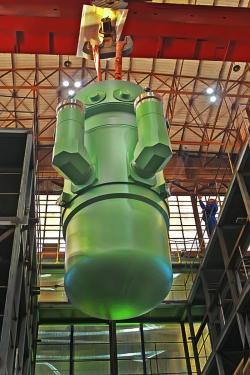 Reaktor RITM-200 by se měl využívat i pro malé modulární reaktory (zdroj OKBM Afrikantov).