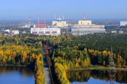 Bělojarská jaderná elektrárna s rychlými sodíkovými reaktory BN600 a BN800 (zdroj Bělojarská jaderná elektrárna).