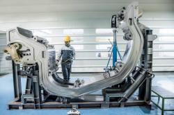 Jednotlivé komponenty budoucího tokamaku ITER už jsou v Cadarache (zdroj ITER).