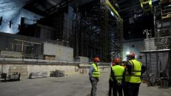 Uvnitř nového sarkofágu (zdroj Černobylská jaderná elektrárna).