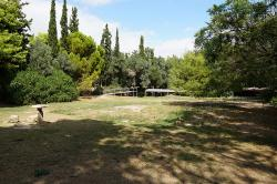 Část areálu Platónovy Akadémie v Athénách. Kredit: Wikimedia Commons.