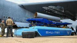 Test prototypu MHU-TSX. Kredit: US Air Force.