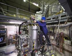 Experiment BASE. Kredit: CERN.