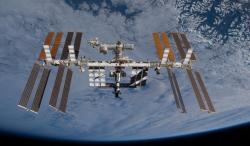 Obr. 1 Mezinárodní vesmírná stanice v současné době
