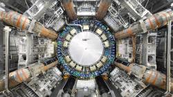 LHC, experiment ATLAS. Kredit: Claudia Marcelloni / CERN.