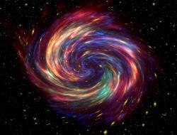 Jak asi vypadal vesmír vprvní mikrosekundě? Kredit: CC0 Public Domain.