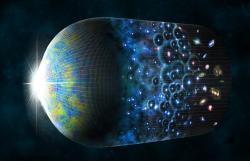 Historie vesmíru, od počátku až do dneška. Kredit: CfA/M. Weiss.