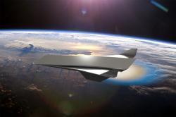 Poletíme na oběžnou dráhu srázovým ramjetem? Kredit: NASA / Daniel Rosato / UCF.