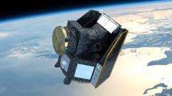 Družice CHEOPS vumělecké představě (zdroj ESA).