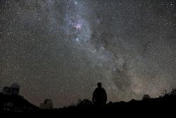 Ledový třpyt hvězd je plný energie. Kredit: ESO/H. Dahle.