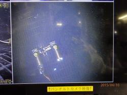 První robot se dostal do kontejnmentu a vyrazil na cestu (zdroj TEPCO).