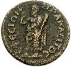 Mince z Efesu doby pozdní antiky. Kredit: Wikimedia Commons