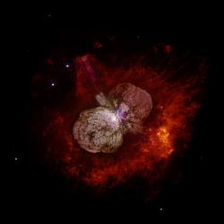 Eta Carinae. Kredit: Nathan Smith (University of California, Berkeley), NASA.