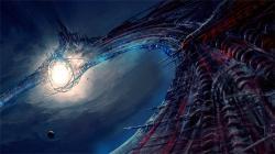 Podaří se civilizacím zkrotit hvězdy? Kredit: L. Blaszkiewicz.