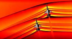 Podivuhodná atmosféra rázových vln. Kredit: NASA.