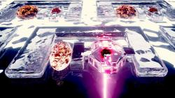 Technologie mikroskopických hydrobotů. Kredit: Nebahat Yenihayat / EPFL