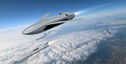 Dron programu LongShot. Kredit: DARPA.