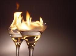 Daly by si octomilky hořící koktejl? Kredit: Nik Frey / Wikimedia Commons.