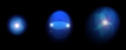 Vizualizace kvark-gluonového plazmatu. Kredit: Javier Orjuela Koop.