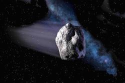 Asteroid, určitě plný vody. Kredit: NASA.