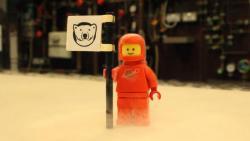 Nejvíc cool LEGO ve vesmíru! Kredit: Lancaster University.