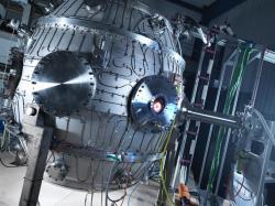 Prototyp fúzního reaktoru ST40. Kredit: Tokamak Energy.