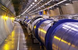 Urychlovač LHC (zdroj CERN).