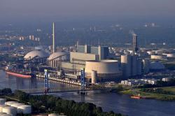 V případě Německého rozbřesku by byla ohrožena i ekonomika nejmodernější německé černouhelné elektrárny Moorburg B (zdroj Wikipedie).