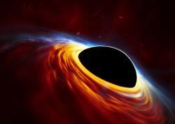 Vyšleme jednou kosmické lodě na černoděrový pohon? Kredit: ESA/Hubble, ESO, M. Kornmesse.