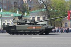 Tank T‑14 Armata. Kredit: Sokolrus / Wikimedia Commons.