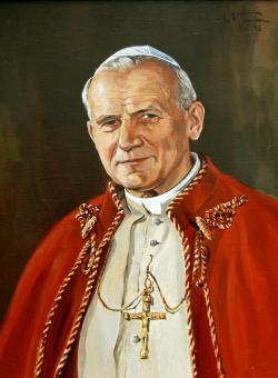 Římsko-katolická církev využívání embryonálních buněk zakazuje. Na nátlak papeže svatého Jana Pavla II v Itálii parlament vydal zákaz jejich využívání, zakázal asistovanou reprodukci a zmrazování embryí. Kredit: Wikipedia.