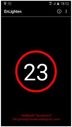 """Mobil: """" Ještě je brzo stát na spojce a túrovat motor, červená bude ještě půl minuty.""""  (Kredit:  University of Huddersfield)"""