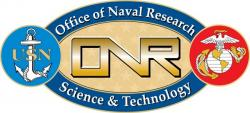 U.S. Office of Naval Research, logo.