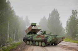 Raketový lovec tanků na podvozku BMP-1. Kredit: MBDA.