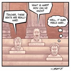 V athénské škole: Počátky empirismu u Aristotela. Kredit: Reginald Graham, Wikimedia Commons.