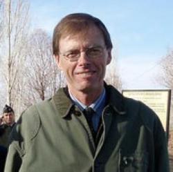 Ian Hodder, britský archeolog pracující pro Stanfordskou universitu, šéf týmu, který vede vykopávky v Turecku. (Kredit: Stanford Univ.)