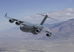 Transportní letoun Boeing C-17 Globemaster III. Kredit: US Air Force / Wikimedia Commons.