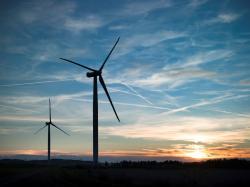 Větrná elektrárna Pchery (zdroj EP ENERGY).