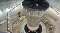 Výstavba reaktoru rychlého sodíkového reaktoru MBIR (Rosatom).