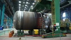 Reaktorová nádoba pro tureckou elektrárnu Akkuyu je připravená k expedici (zdroj Atomenergomaš).