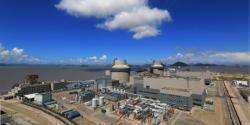 Elektrárna San-men s reaktory AP1000 (zdroj CNNC).