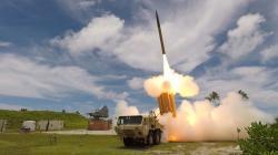 Protivzdušný systém THAAD vakci. Kredit: Missile Defense Agency.