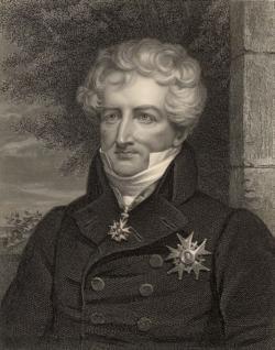 Baron Georges Cuvier (1769 – 1832) patří k předním osobnostem přírodovědy na přelomu 18. a 19. století. Byl spoluzakladatelem paleontologie obratlovců a proslul také jako zastánce katastrofismu. Současné poznatky mu po dvou stoletích dávají částečně za pravdu. Převzato z Wikipedie.