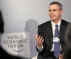 Robert Schoelkopf. Kredit: WORLD ECONOMIC FORUM / swiss-image.ch / Photo Moritz Hager.