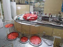 Reaktorová hala nového bloku v Mochovcích (zdroj elektrárna Mochovce).