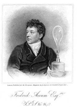 Frederic Accum (1769-1838)   (Kredit: European Magazine.Public Domain, Wikimedia Commons)
