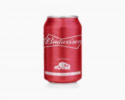 Budweiser zprvní autonomní várky plechovek. Kredit: Otto.