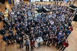 Fotografie účastníků kolaborace FCC na každoroční konferenci, 2019. Courtesy CERN.